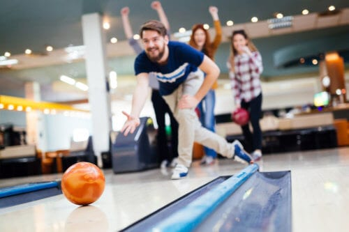 Rehab Alumni Programs Often Participate In Events Such As Bowling
