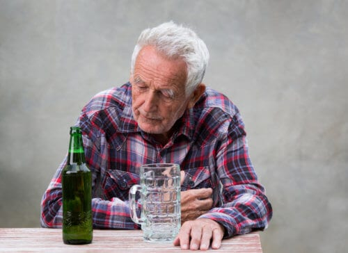Senior Alcoholism Is Most Prevalent Among Widowers Over The Age Of 75