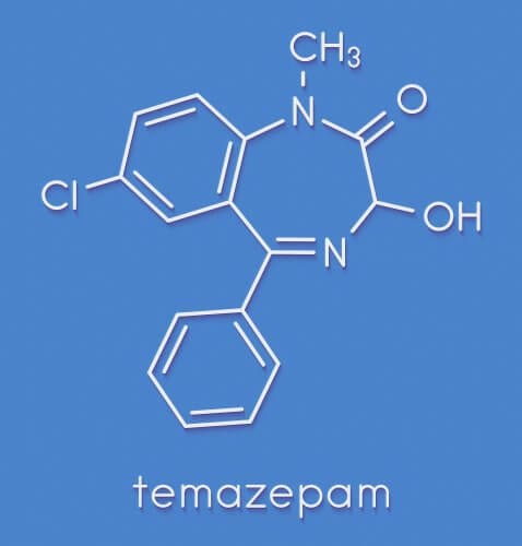 The Chemical Formula Of Restoril Is Similar To Other Benzodiazepines